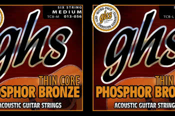 Struny GHS Thin Core Phosphor Bronze Acoustic
