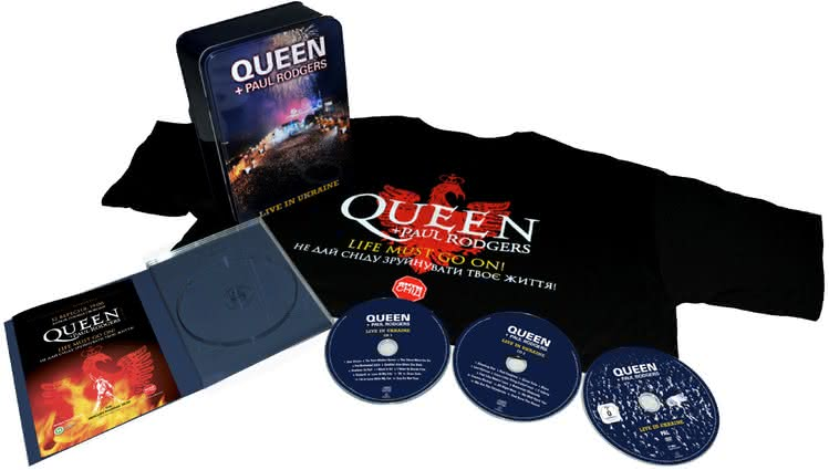Konkurs: do wygrania 10xDVD Queen + Paul Rodgers