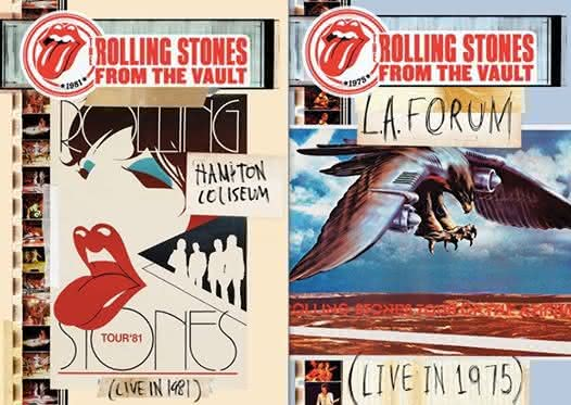 The Rolling Stones - stare koncerty na DVD