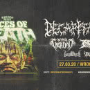Rising Merch Faces Of Death 2020 we Wrocławiu