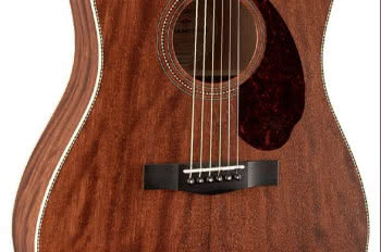 Fender Paramount PM-1 Dreadnought NE All-Mahogany