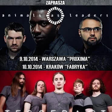 Animals As Leaders i Tesseract w Polsce