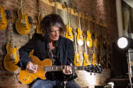 "Gibson Joe Perry ""Gold Rush"" Les Paul Axcess"