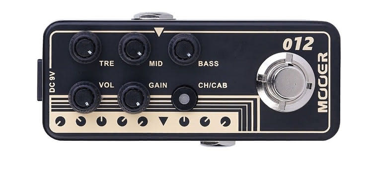 MOOER - 012 Fried-Mien Micro Preamp