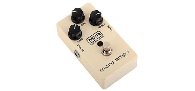 MXR - Custom Shop Micro Amp +
