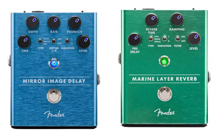 FENDER - Marine Layer Reverb, Mirror Image Delay
