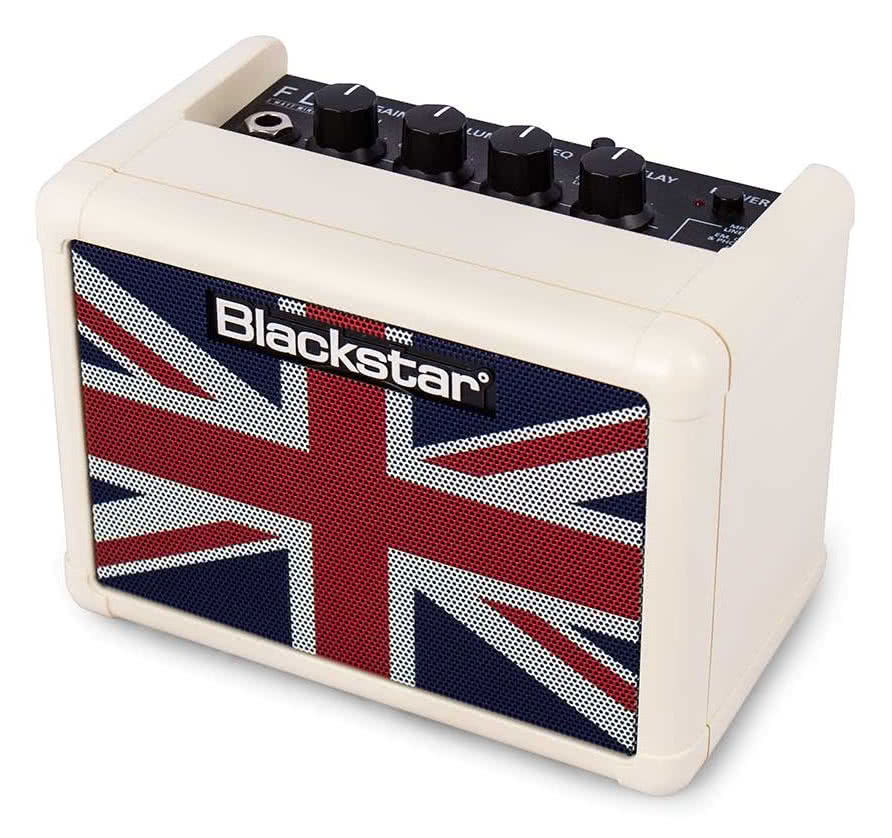 NAMM 2016: Blackstar Fly 3 Union Flag