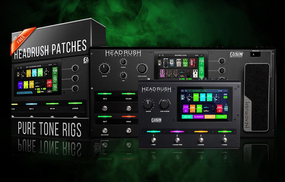 PROMOCJA: HeadRush i brzmienia Pure Tone Rigs