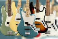 Fender Player Jazz Bass, Precision Bass i Jaguar Bass