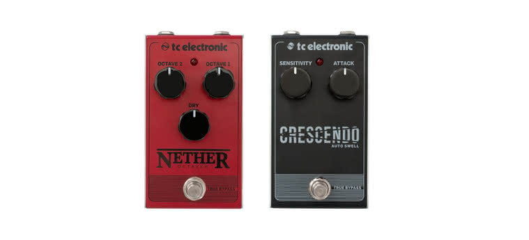 TC ELECTRONIC - Nether Octaver, Crescendo Auto Swell