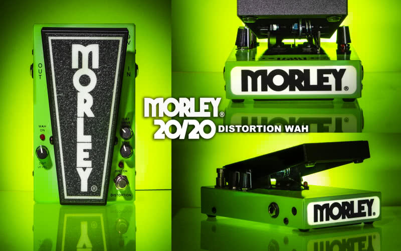 Morley 20/20 Power Fuzz Wah oraz 20/20 Distortion Wah