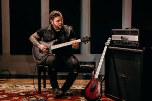 "PRS DW CE 24 ""Floyd"" gitarzysty Between the Buried and Me"