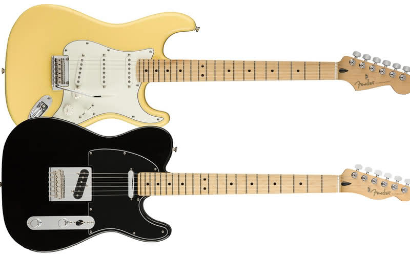 Player Stratocaster, Player Telecaster