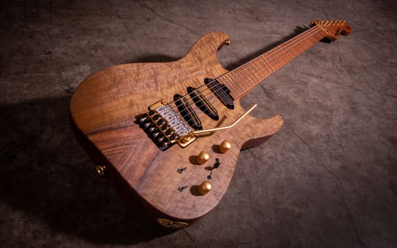 Jackson USA Signature Limited Edition Phil Collen PC1 Claro Walnut