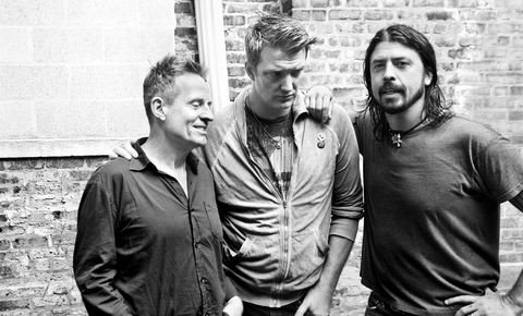 Dave Grohl, Josh Homme (Them Crooked Vultures)