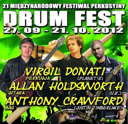 Allan Holdsworth i Anthony Crawford na Drum Fest 2012