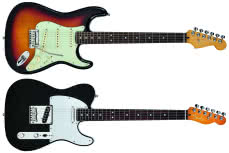 American Ultra Telecaster, American Ultra Stratocaster