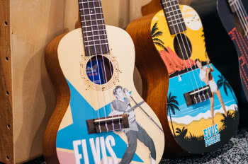 Zestawy Kala Learn To Play Elvis Concert Ukulele