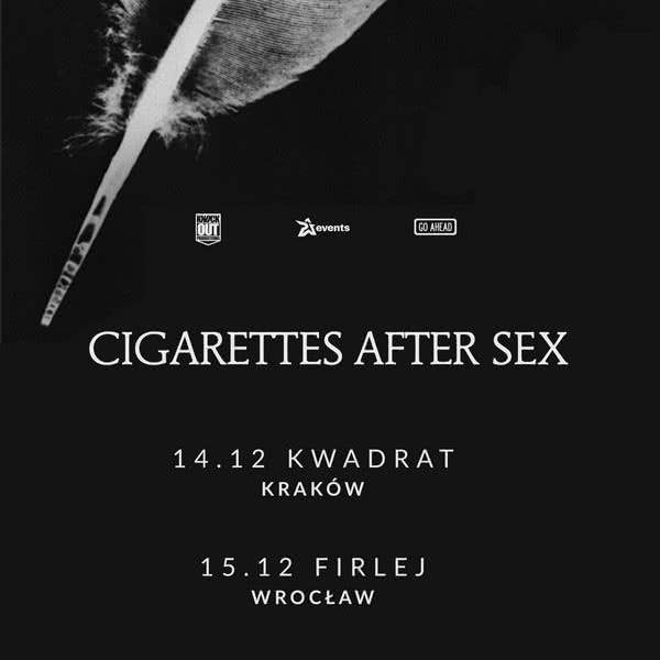 Cigarettes After Sex wracają do Polski