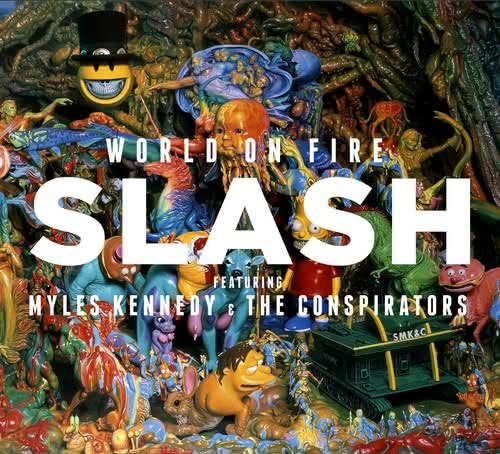 Slash: posłuchaj nowego singla World On Fire!