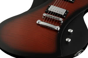 Framus D-Series Idolmaker Burgundy Blackburst Transparent High Polish