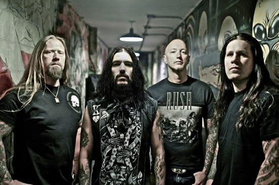 Machine Head wchodzi do studia