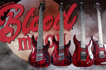 Schecter Silver Mountain w wersji Blood Moon