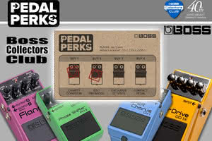BOSS Collectors Club i akcja promocyjna PEDAL PERKS