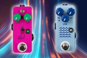 JHS Mini Foot Fuzz V2 i Tidewater Tremolo