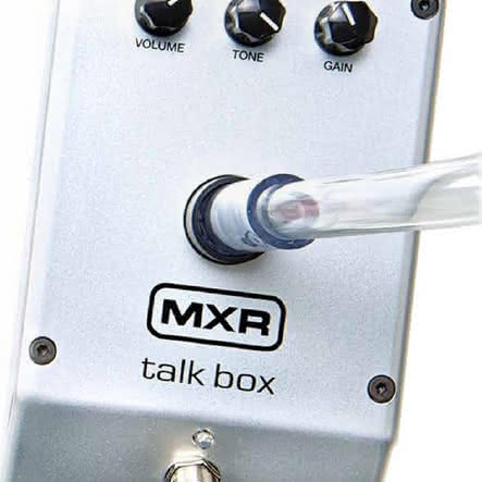 Dunlop Talk Box i Fuzz Face Mini