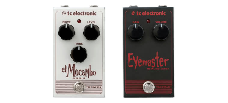 TC ELECTRONIC - El Mocambo Overdrive, Eyemaster Metal Distortion