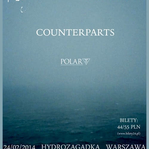 Koncert Hundredth, Being as An Ocean i Counterparts już za tydzień