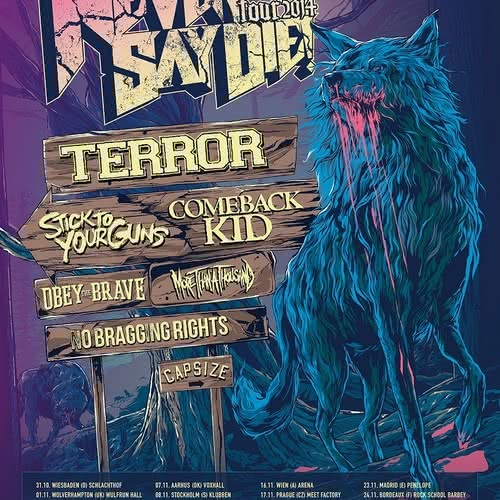 Impericon Never Say Die - 15.11.2014 - Warszawa