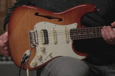 Fender Rarities Flame Maple Top Stratocaster HSS Thinline